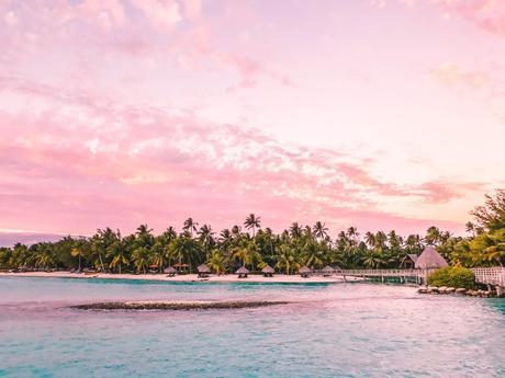 Diamond Overwater Villa - Intercontinental Bora Bora Resort & Thalasso Spa - Bora Bora coucher de soleil