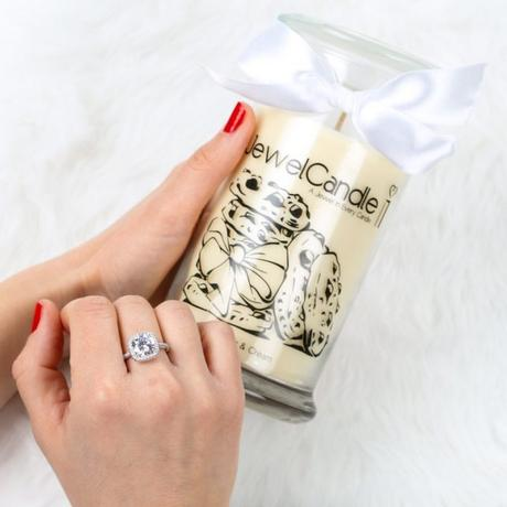 jewelcandle Cookies Cream Bague bougies bijoux avis