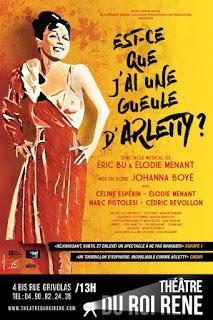 Est-ce que j'ai une Gueule d'Arletty ? de Eric Bu & Elodie Menant