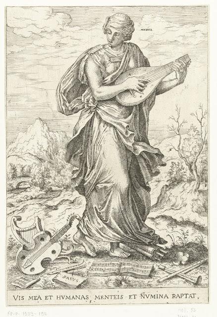 Hieronymus Cock - Les sept arts libéraux, plus un