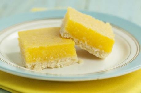 Carrés au citron – Barres au citron