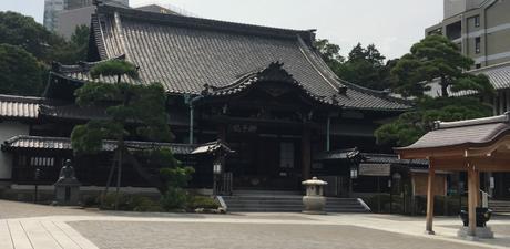 Le temple sōtō zen bouddhique Sengaku-ji à Tokyo