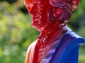 Ouverture Festival Bayreuth: bustes rouges bleus Maître