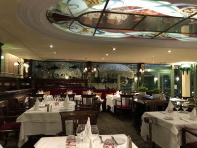 Délicieux moment au restaurant Le Siècle de l'hôtel West End