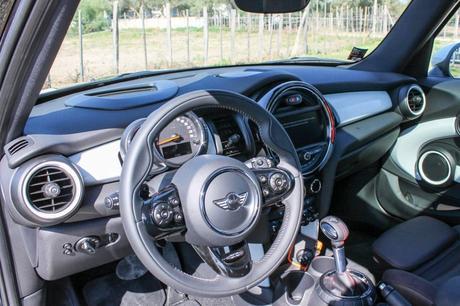 Intérieur de la Mini Cooper S