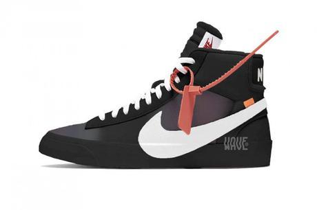 Off White Nike Blazer Mid Black/ Vanilla