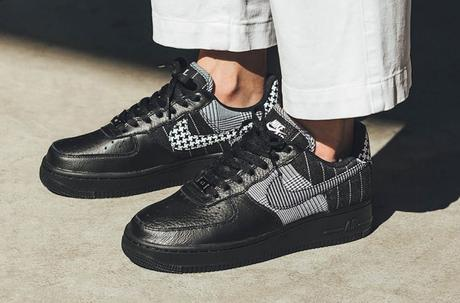 Nike Air Force 1 Black Patchwork Low