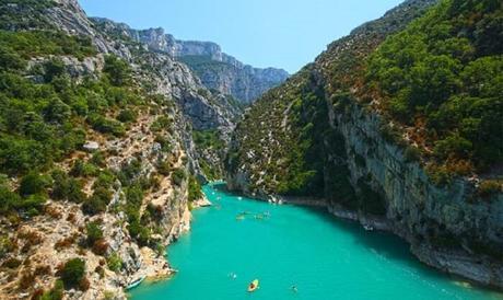 Le septième plus beau paysage de France: Les Gorges du Verdon