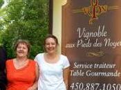 route vins Lanaudière: Vignoble pieds noyers