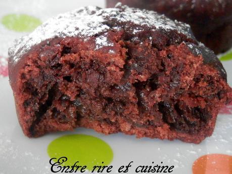 Muffins chocolat-cacao (au yaourt de soja)
