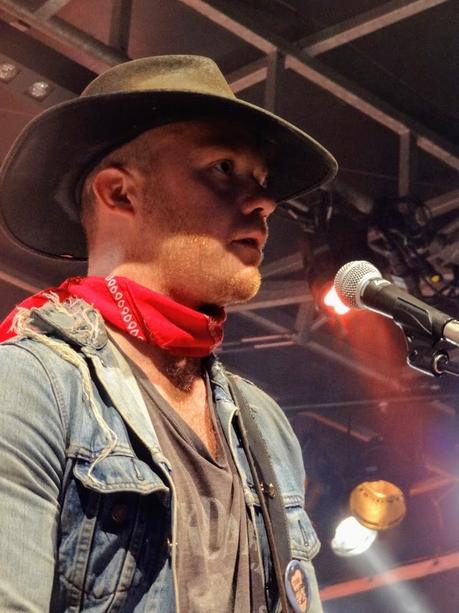 Rhyece O'Neill and The Narodniks ( scène La Cloche) au Binic Folks Blues festival , le 29 juillet 2018