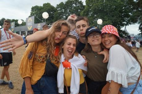 Les festivaliers, toujours aussi fans des Vieilles Charrues