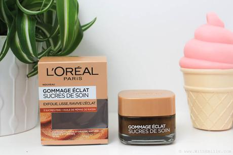 Le Gommage Eclat Soins de Sucre de l'Oréal | Mon avis complet