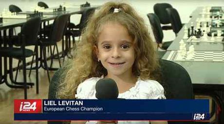Liel Levitan, championne d'Europe des échecs