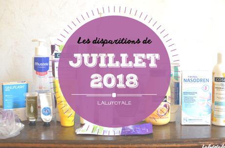 ✞ Les disparitions de Juillet 2018 ✞