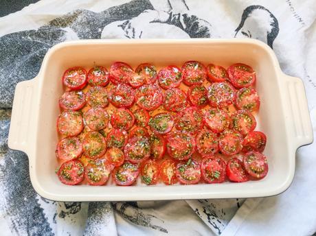 Cueillette – Tomates cerises confites