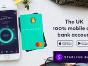 Starling lance dans bank service