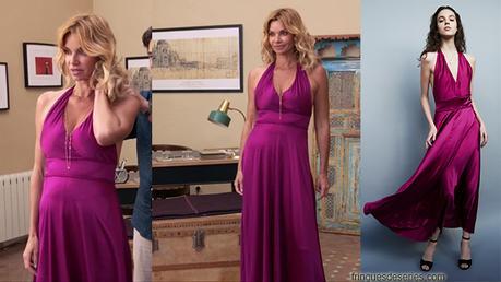 DEMAIN NOUS APPARTIENT : la robe fuchsia de Chloé dans l'épisode 256