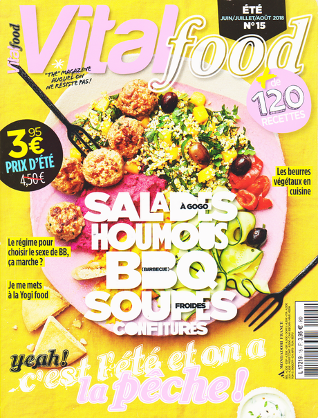 Un numéro de Vital Food très estival !
