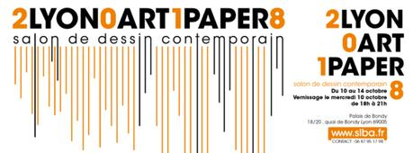 Le salon de dessin contemporain Lyon Art Paper