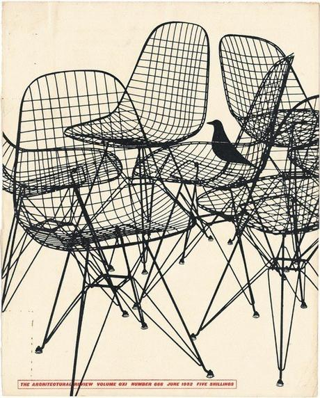 House bird oiseau eames 1951 Chaise Wire DKR Vitra - Blog déco design Clemaroundthecorner