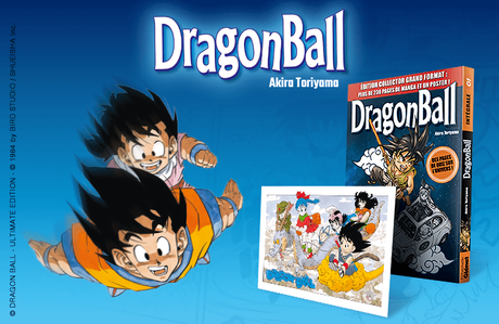 Une édition collector grand format pour Dragon Ball chez Hachette Collections