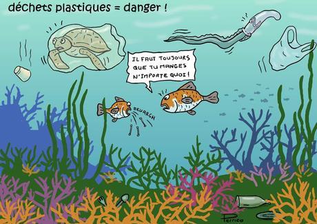 Arrêtez de polluer la mer !