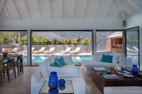 villa bungalow piscine location saint barth salon blog deco clemaroundthecorner