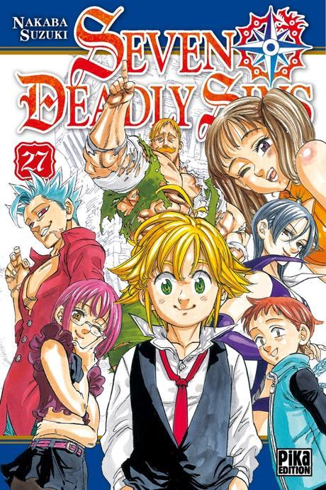 Le manga Seven Deadly Sins devrait se terminer d'ici un an