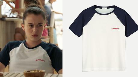 DEMAIN NOUS APPARTIENT : le t-shirt «seriously» de Sara dans l'épisode 262