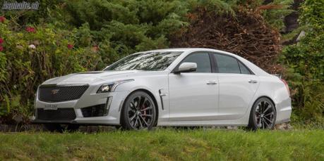 Essai Cadillac CTS-V: la surprise