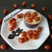 Polenta aux Tomates Cerises - 1 Soupçon 2 Gourmandises