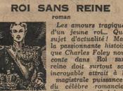 roman ludwighien français oublié: SANS REINE, Charles Foleÿ