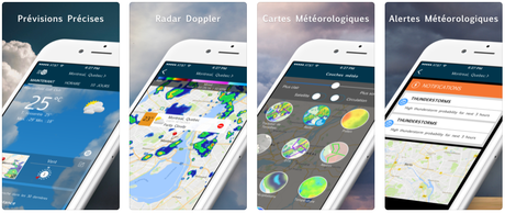 App du jour : WeatherBug – Radar & Cartes (iPhone & iPad – gratuit)