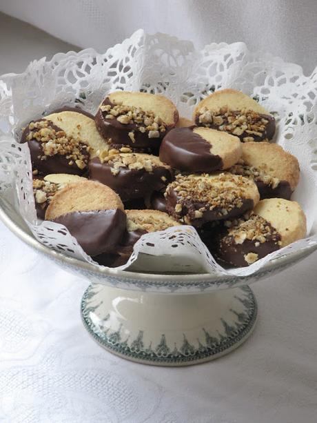 Sablés diamant en coque chocolatée