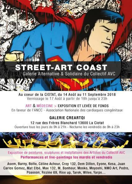 Nouvelle Exposition du collectif AVC à La Ciotat
