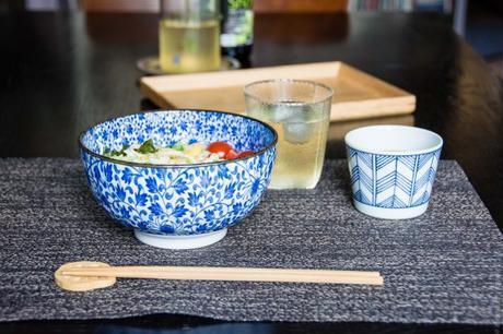 Japon frais – Udons froids aux légumes d'été