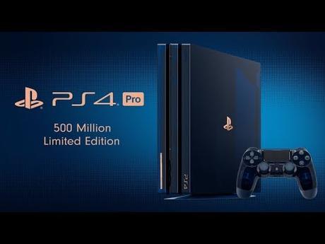 Une PS4 spéciale à l'occasion des 500 millions de PS4 vendues