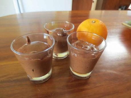 Mousse magique au chocolat au thermomix