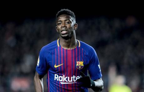 Ousmane Dembélé, joueur du FC Barcelone