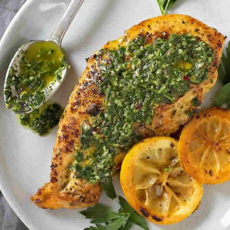 Sauce chimichurri traditionnelle au thermomix