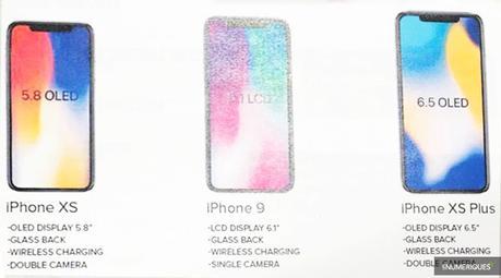 3 nouveaux iPhone pour septembre !