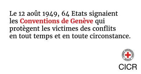 Les Conventions de Genève soufflent aujourd'hui leurs 69 bougies…