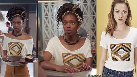 DEMAIN NOUS APPARTIENT : le t-shirt «mademoiselle» de Gwen dans l'épisode 266