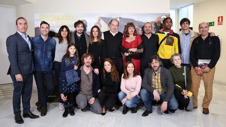 J'ai vu Benvinguts a la familia (En famille), la série espagnole sur Netflix