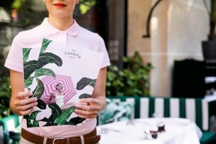 Venez découvrir le Cabana Café à l'Hôtel Plaza Athénée