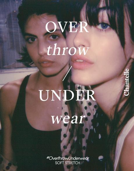 #OverthrowUnderwear : la nouvelle campagne signée Chantelle