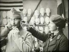 photos fascinantes avant après montrent comment cette femme changé d'anciens combattants Première Guerre mondiale restaurant leurs visages