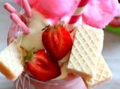 ~Lait frappé fraises très gourmand~
