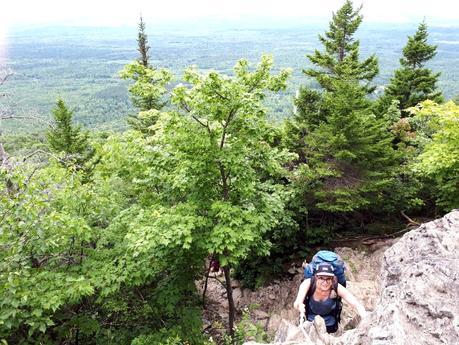 Randonnée et camping au sommet du Mont-Ham